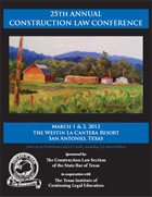 25th Annual Construction Law Conference